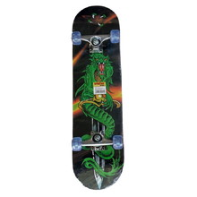Spartan Super Board Skateboard - Dragon Sword