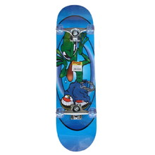 Spartan Super Board Skateboard - Alien On Blue