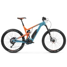 "Kross Soil Boost 2.0 SE 27,5"" Vollgefedertes Elektrofahrrad- Modell 2019 - Blue / Orange Glossy"