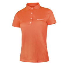 Damen-Funktions-Poloshirt Brubeck PRESTIGE - orange