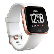 Fitbit Versa White Band/Rose Gold Case kluge Uhr