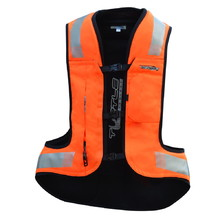 Helite Turtle 2 HiVis Airbagweste - orange