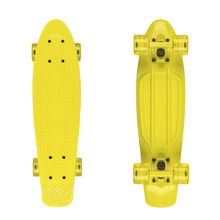 "Fish Classic 22"" Penny Board - Yellow-Yellow-Transparent Yellow"